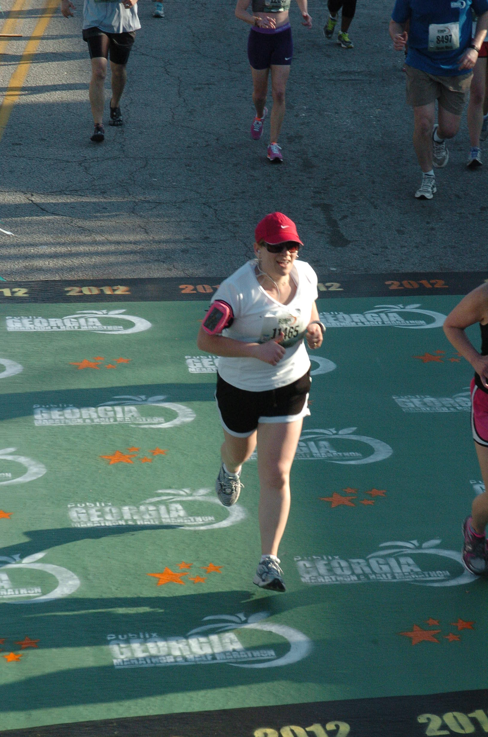 Conquering the Atlanta Half Marathon: Melissa West